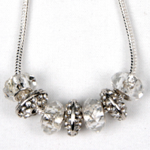 Crystal Bling Shiny Bead Necklace