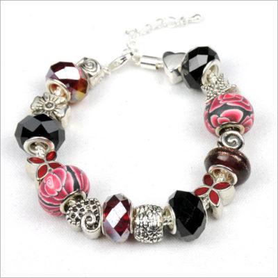 Garnet Beauty Bead Bracelet
