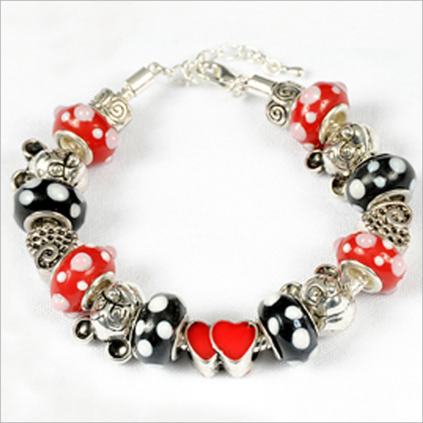Mickey Mouse Charm Bracelet My Favorite Beads