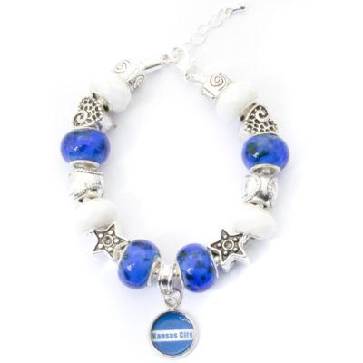 Kansas City Bracelet with Dangling Pendant