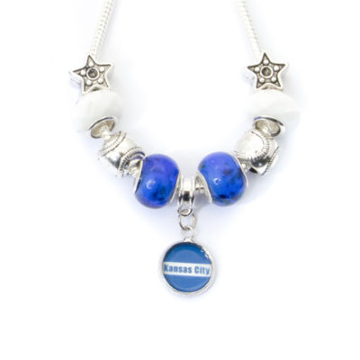 Kansas City Necklace with Dangling Pendant